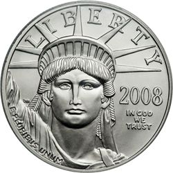 2008-W $100 Platinum Eagle