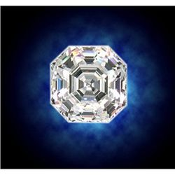 GIA Certified Asscher Cut Diamond 1.01 ctw E VVS1