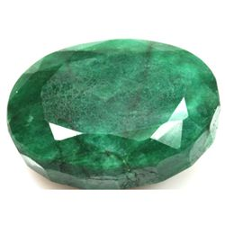 African Emerald Loose Gems 64.85ctw Oval Cut