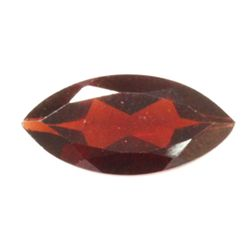 Natural 2.13ctw Garnet Checker Board Marque 6x12 Stone