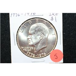 1976-S Eisenhower $1