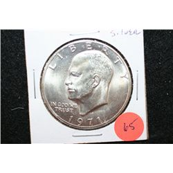 1971-S Eisenhower $1; Silver