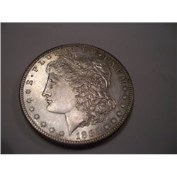 1885-S Almost Uncirculated Morgan Silver Dollar, AU-58