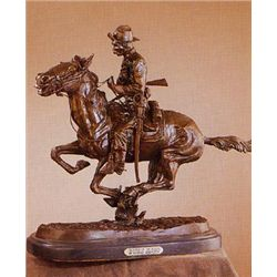 Frederick Remington s  Trooper of the Plains  Bronze