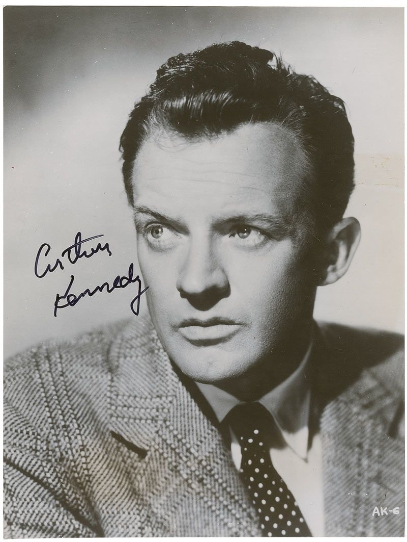 arthur kennedy related to george kennedy