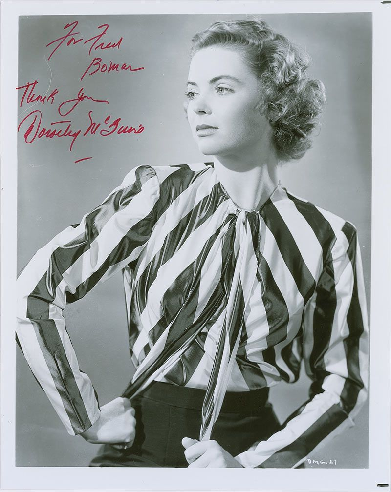dorothy mcguire young and the restless