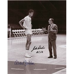 Kareem Abdul-Jabbar and John Wooden