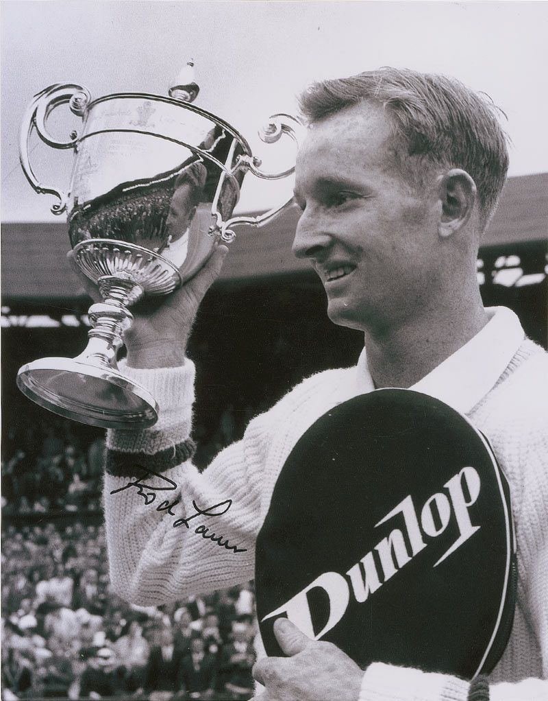 Rod Laver and Roy Emerson