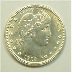 1912 Quarter Ch BU 63 Blast white with exc eye appeal!