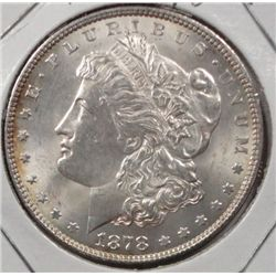 1878 7/8 f Morgan $ MS63