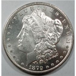 1879S Morgan $  Frosty White PQ coin