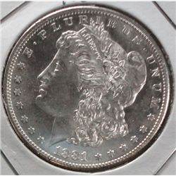 1881S Morgan $ MS63/65