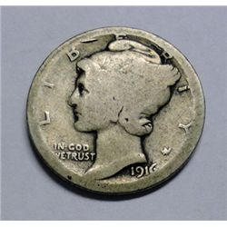 1916D Mercury dime----Good GS bid = $685