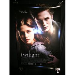 Twilight Robert Pattinson Signed Poster