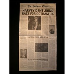The Dark Knight Newspaper