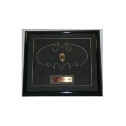 Batman & Robin Security Officer Framed Badge