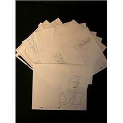 King Of The Hill Production Sketches Lot