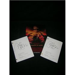 John Carpenter, Joanna Cassidy & Roddy Piper Signed Lot
