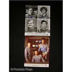 Star Trek Signed Cast Photos