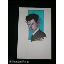 X-Men Concept Art Drawing
