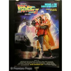 Back to the Future Part II Poster Signed by Drew Struzan