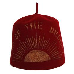 Sons of the Desert Stamped Fez