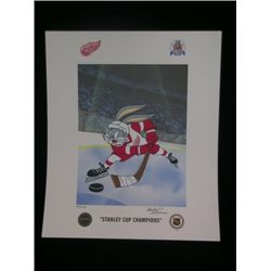 Bugs Bunny 'Stanley Cup Champions' Print