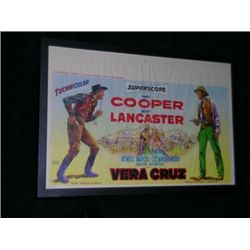 Vera Cruz Framed Movie Poster
