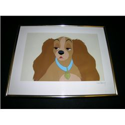 Lady and the Tramp Animation Cel