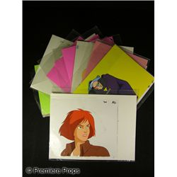 Where on Earth is Carmen Sandiego Hand Drawn Animation Cels