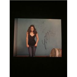 Lea Michele 8x10 Signed Color Photo