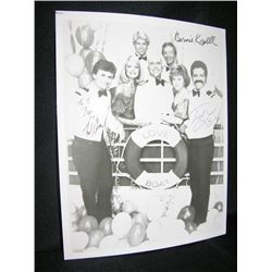 The Love Boat Signed Cast Photo