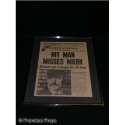 Mike Hammer Framed Article