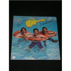 Monkees Signed Album