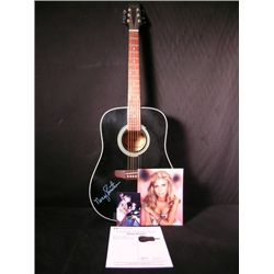 Nancy Sinatra Signed Acoustic Guitar