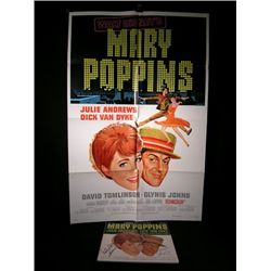 Mary Poppins Signed Soundtrack LP