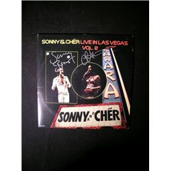 Sonny and Cher Signed LP