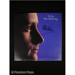 Phil Collins Signed Album