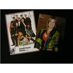 American Idol Signed Items