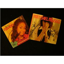 Disney Channel Star Signed Items
