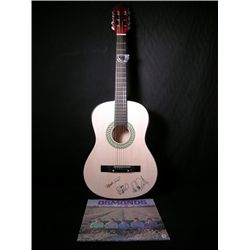 Signed Osmond Brothers Guitar & LP