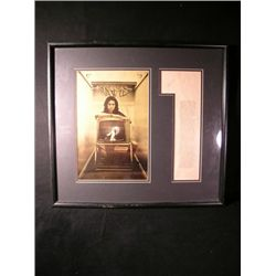 Jim Morrison Autographed Framed Photo