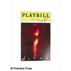 Dream Playbill Signed by Deborah Yates