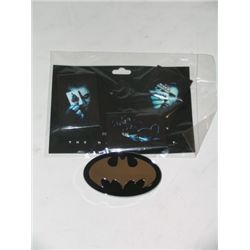 Dark Knight Button Set And Belt Buckle