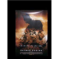 Batman Begins One Sheet Poster