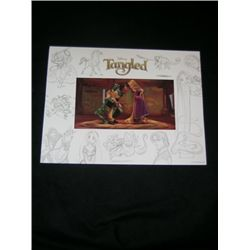 Tangled Animation Cel