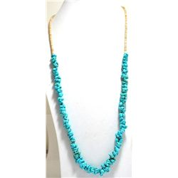Old Pawn Turquoise & Shell Necklace