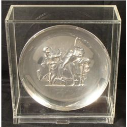 Dali Sterling Silver Plate Lincoln Dionysos of Athena