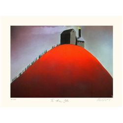 Mackenzie Thorpe 'TO THE JOB' Lithograph
