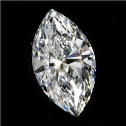 Diamond EGL Cert. ID: 3103104214 Marquise 0.90ct G, SI2
